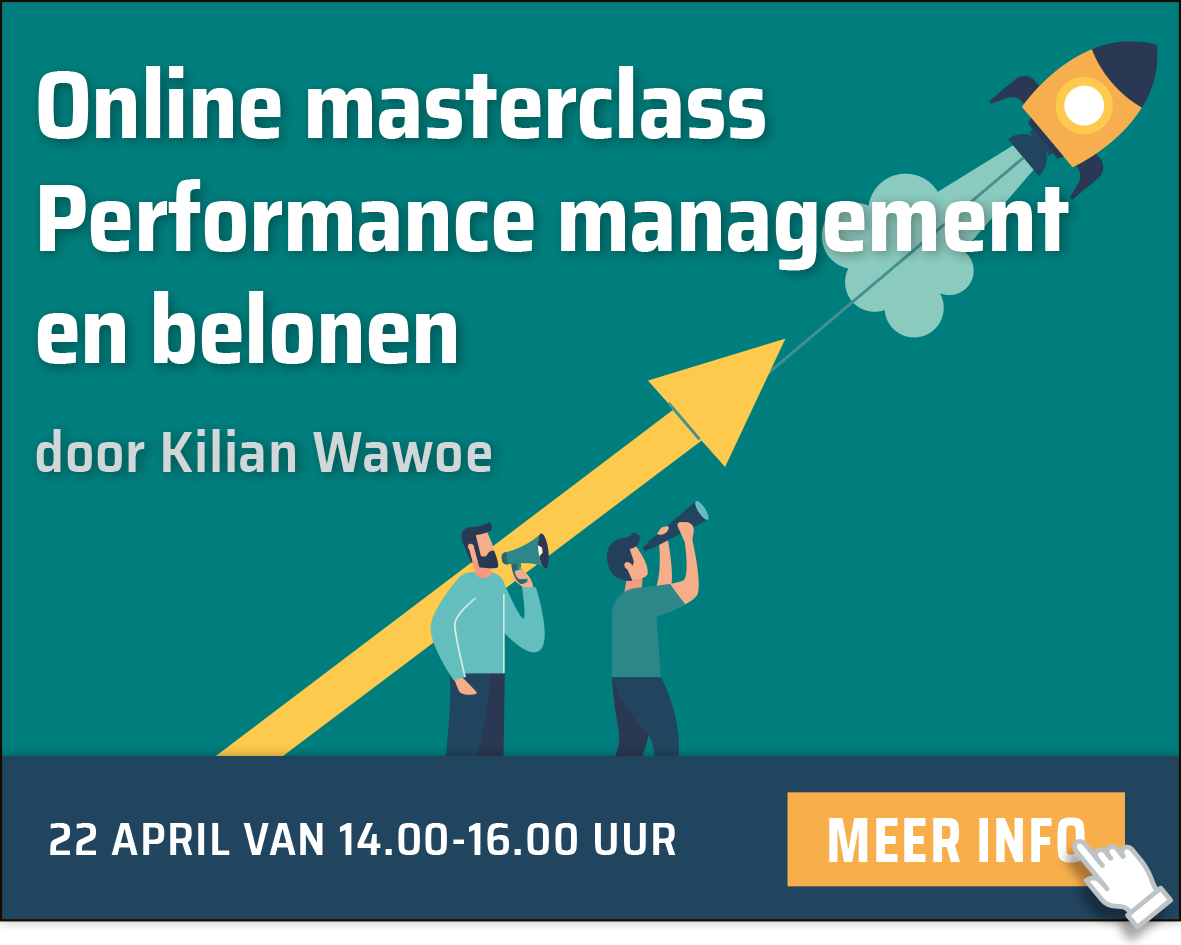 Masterclass Performance management en belonen