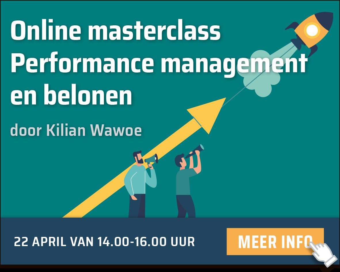 Masterclass Performance management en belonen